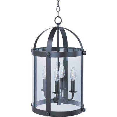 Maxim Lighting 21550CLBZ Tara - Four Light Entry Foyer Pendant