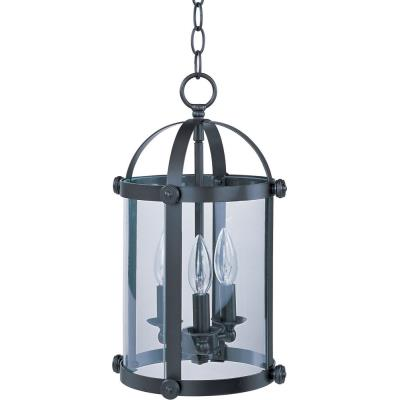 Maxim Lighting 21552CLBZ Tara - Three Light Entry Foyer Pendant