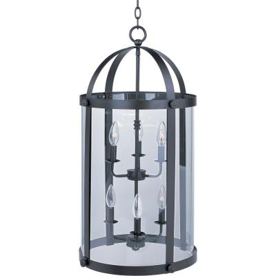 Maxim Lighting 21554CLBZ Tara - Six Light Entry Foyer Pendant