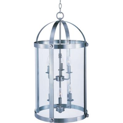 Maxim Lighting 21554CLSN Tara - Six Light Entry Foyer Pendant
