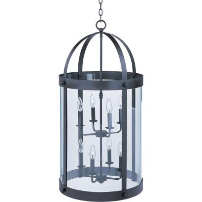 Maxim Lighting 21556CLBZ Tara - Eight Light Entry Foyer Pendant