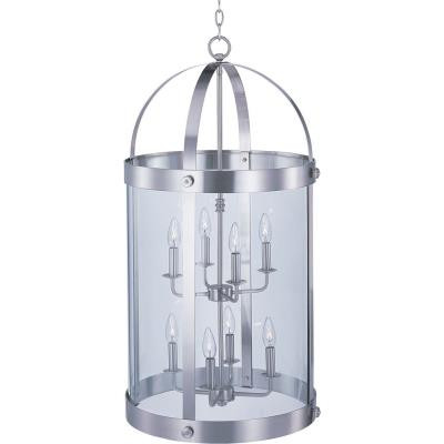 Maxim Lighting 21556CLSN Tara - Eight Light Entry Foyer Pendant