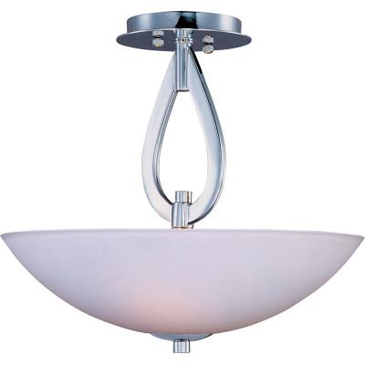 Maxim Lighting 22172SWPC Elan - Three Light Semi-Flush Mount