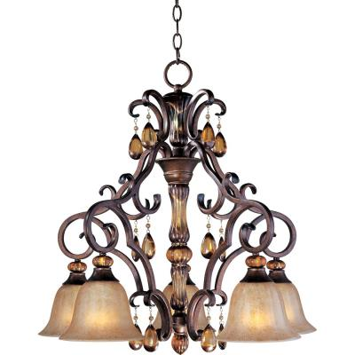 Maxim Lighting 22264EMFL Dresden - Five Light Chandelier