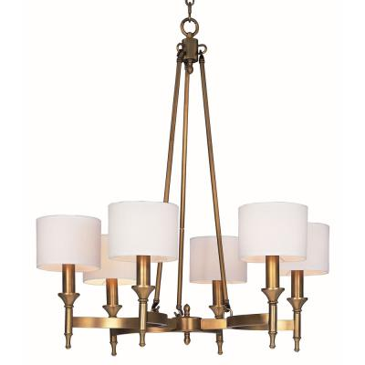 Maxim Lighting 22375OMNAB Fairmont - Six Light Chandelier