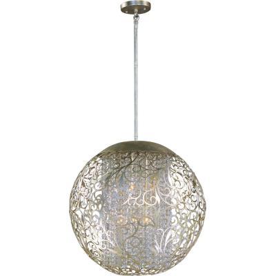 Maxim Lighting 24156BCGS Arabesque - Nine Light Pendant