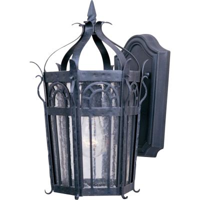 Maxim Lighting 30041CDCF Cathedral - One Light Outdoor Wall Mount