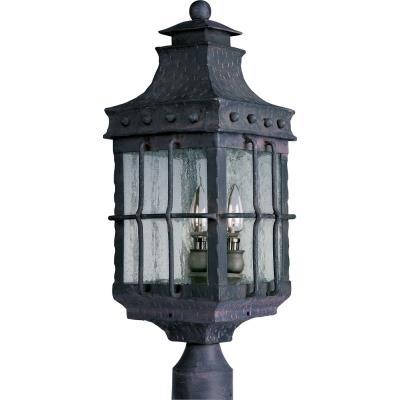 Maxim Lighting 30080CDCF Nantucket - Three Light Outdoor Pole/Post Mount