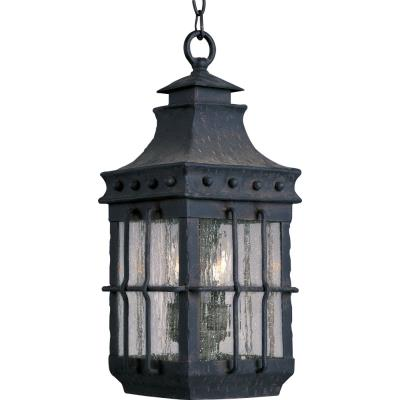 Maxim Lighting 30088CDCF Nantucket - Three Light Outdoor Hanging Lantern