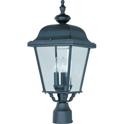 Maxim Lighting 3008 Builder Cast - Three Light Outdoor Pole/Post Mount