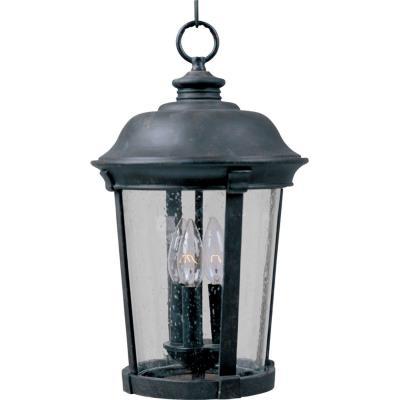 Maxim Lighting 3029 Dover DC - Three Light Outdoor Hanging Lantern