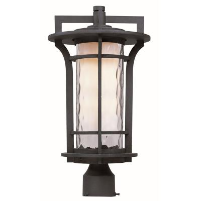 Maxim Lighting 30480WGBO Oakville - One Light Outdoor Pole/Post Mount
