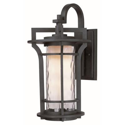 Maxim Lighting 30485WGBO Oakville - One Light Outdoor Wall Mount