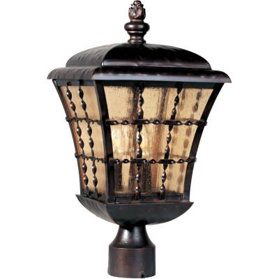 Maxim Lighting 30490 Orleans - Three Light Outdoor Pole/Post Mount