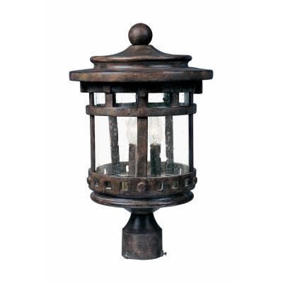 Maxim Lighting 3136 Santa Barbara DC - Three Light Outdoor Pole/Post Mount