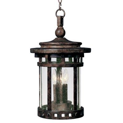 Maxim Lighting 3138 Santa Barbara DC - Three Light Outdoor Hanging Lantern