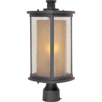 Maxim Lighting 3150CDWSBZ Bungalow - One Light Outdoor Post Mount
