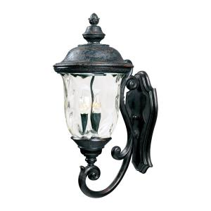 Carriage House DC - Three Light Outdoor Wall Mount