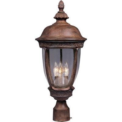 Maxim Lighting 3460 Knob Hill DC - Three Light Outdoor Pole/Post Mount