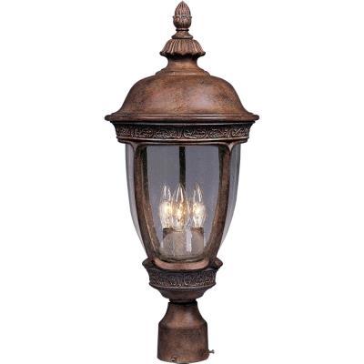 Maxim Lighting 3461 Knob Hill DC - Three Light Outdoor Pole/Post Mount