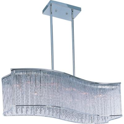 Maxim Lighting 39707CLPC Swizzle - Sixteen Light Pendant