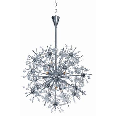 Maxim Lighting 39745 Starfire - Eleven Light Chandelier