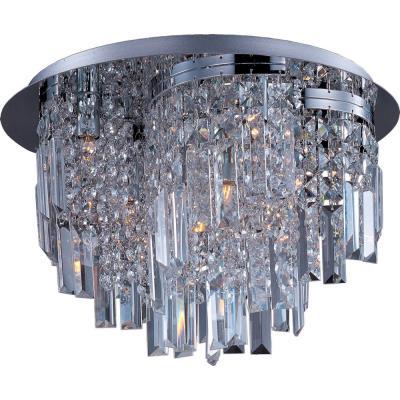 Maxim Lighting 39800BCPC Belvedere - Ten Light Semi-Flush Mount