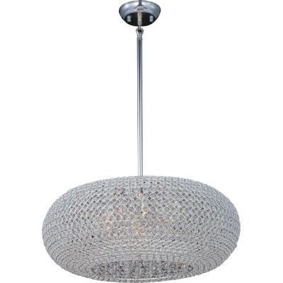 Maxim Lighting 39879BCPS Glimmer - Nine Light Adjustable Pendant