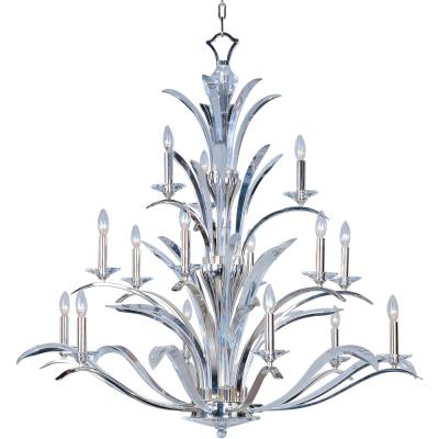 Maxim Lighting 39947BCPS Paradise - Fifteen Light 3-Tier Chandelier