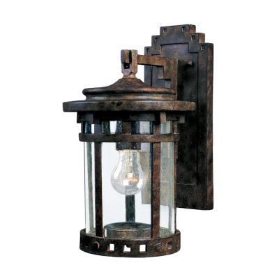 Maxim Lighting 40033CDSE Santa Barbara VX - One Light Outdoor Wall Mount