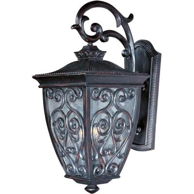 Maxim Lighting 40125CDOB Newbury VX - Three Light Outdoor Wall Mount