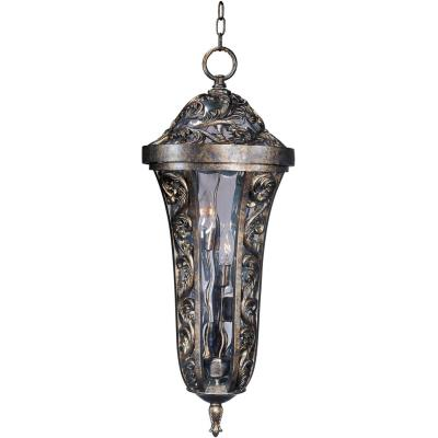 Maxim Lighting 40147WGTR Montecito VX - Four Light Outdoor Hanging Lantern