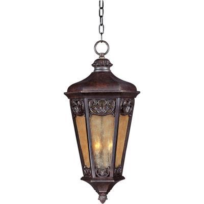 Maxim Lighting 40177NSCU Lexington VX - Three Light Outdoor Hanging Lantern