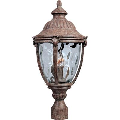 Maxim Lighting 40281WGET Morrow Bay VX - Three Light Outdoor Pole/Post Mount