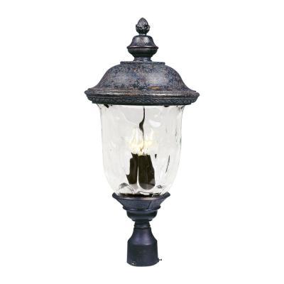 Maxim Lighting 40420WGOB Carriage House VX - Three Light Outdoor Pole/Post Lan