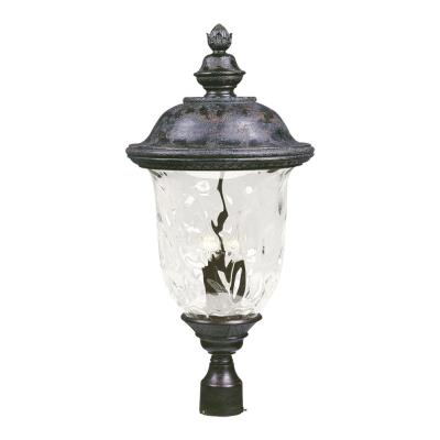 Maxim Lighting 40421WGOB Carriage House VX - Three Light Outdoor Pole/Post Lan