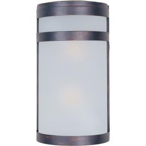 Arc - Two Light Outdoor Wall Mount