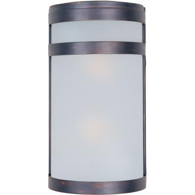 Maxim Lighting 5002FTOI Arc - Two Light Outdoor Wall Mount