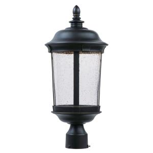 "Dover - 21"" 12W 1 LED Outdoor Post Lantern"