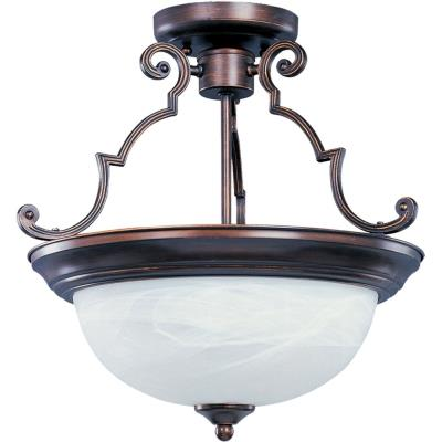 Maxim Lighting 5844 Essentials - Three Light Semi-Flush Mount