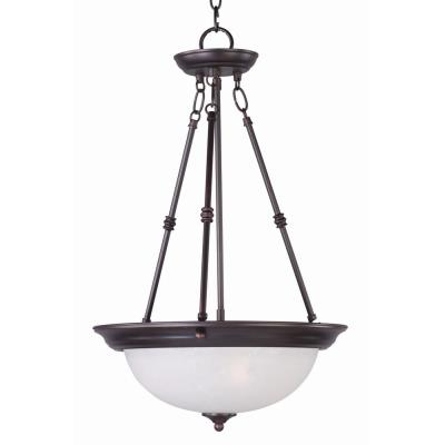 Maxim Lighting 5845 Essentials - Three Light Invert Bowl Pendant