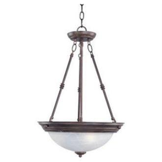 Maxim Lighting 5845 Essentials - Three Light Invert Bowl Pendant