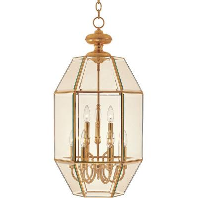 Maxim Lighting 60201CLPB Bound Glass - Nine Light Entry Foyer Pendant