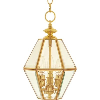 Maxim Lighting 6151CLPB Bound Glass - Three Light Entry Foyer Pendant