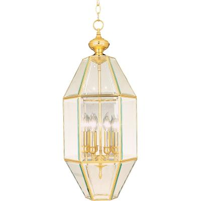 Maxim Lighting 61601CLPB Bound Glass - Six Light Entry Foyer Pendant