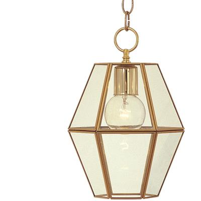 Maxim Lighting 6897CLPB Bound Glass - One Light Entry Foyer Pendant