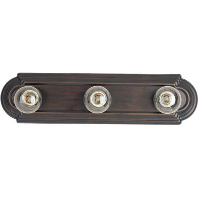 Maxim Lighting 7123 Essentials - Three Light Bath Vanity