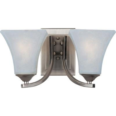 Maxim Lighting 83099FTSN Aurora EE - Two Light Wall Sconce