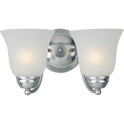 Maxim Lighting 85132 Basix EE - Two Light Bath Vanity