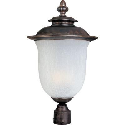 Maxim Lighting 85191FCCH Cambria EE - One Light Outdoor Pole/Post Mount